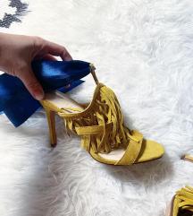 Uj bershka szalagos cipő
