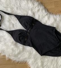 F&F egyrészes fekete fürdőruha 34 / 36  XS / S