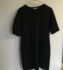ZARA  fekete pólóruha