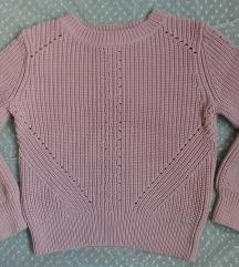Piszkos rózsaszín pulcsi