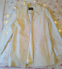 Leather Style halvány bézs dzseki
