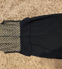 Fekete-arany alkalmi ruha