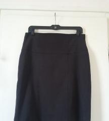 Orsay aprókockás fekete ceruzaszoknya, 38-as