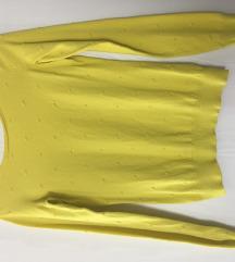 Orsay sárga hosszúujjú felső, pulóver