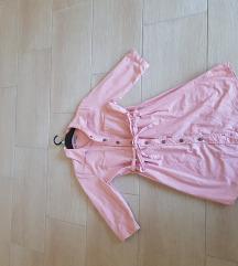 Rózsaszín, pamut ingruha