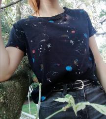Fekete univerzumos/ asztronautás felső
