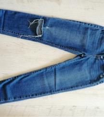 Tally Weijl farmer szaggatott nadrág 34