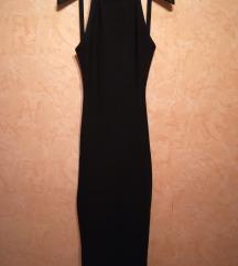 Bershka fekete ruha