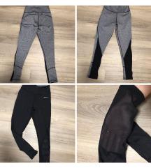 Kétszínű kifordítható push-up Neccbetétes legging