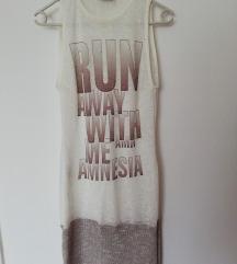 Ujjatlan feliratos ruha Amnesia