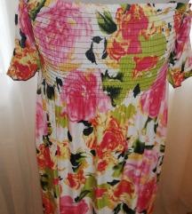 Virágos hosszú nyári ruha