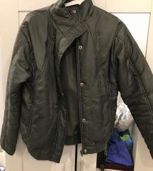 Khaki bomber kabát