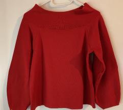 Ejtett vállú H&M pulóver