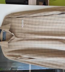 Columbia márkájú, kockás hosszú ujjú férfi ing