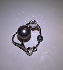 Kétgömbös drótgyűrű