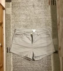 Bézs/Nude csini h&m short/ rövidnadrág