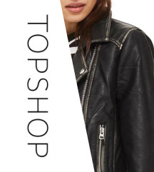 Topshop valódi bőr női  dzseki