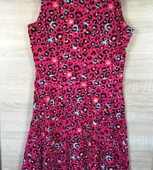C&A ocelot mintás pink ruha (csere is)