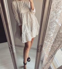 Zara törtfehér ruha