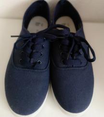 PRIMARK kék vászoncipő