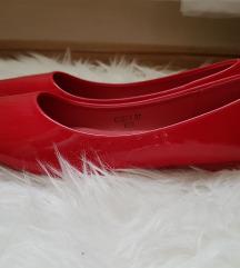 Piros lakk balerina cipő 36 Új