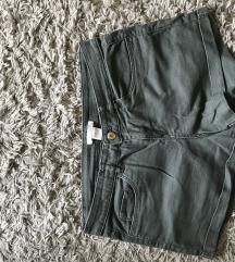 H&M khaki rövidnadrág