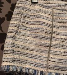 H&M tweed hatású rövidnadrág