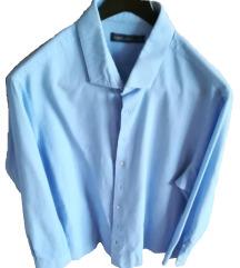 világoskék olasz ing 45-46 méret XXL
