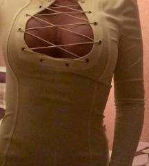 Citromsárga mini ruha