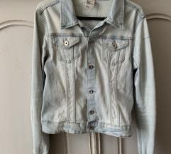 H&M világos farmer kabát