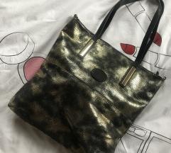 Fekete/arany táska
