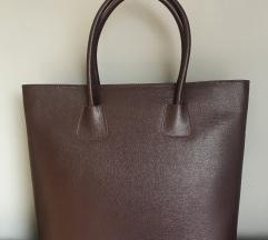 Olasz bőr bordó pakolós táska