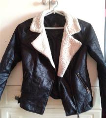 Atmosphere műbőr női kabát XS-es