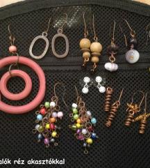 💎 Bizsu ékszerek (kézműves fülbevaló, nyaklánc)