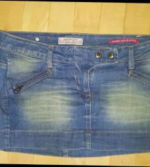 Retro Jeans 27-es farmer miniszoknya