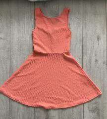 H&M barackszínű ruha