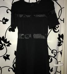 fekete koktél ruha