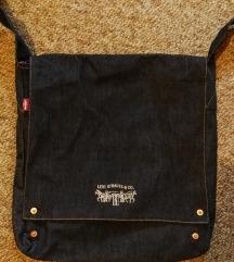 Új Levi's farmer denim táska szatyor tote bag