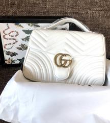 Gucci Marmont White medium