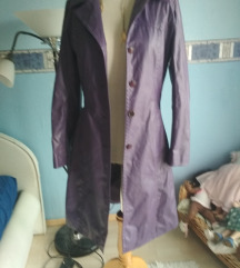Csini divatos lila kabát