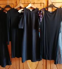 Fekete alig viselt ruhák S/36