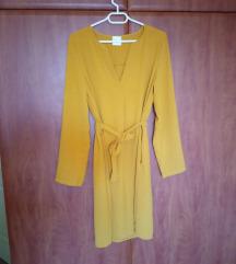 Mustársárga ruha L/XL