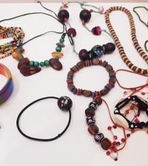 Hippi színes ékszerek