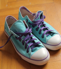 Türkiz Converse cipő
