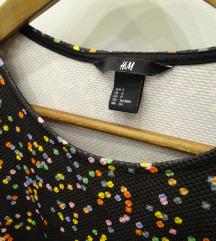 Bohém peplumos felső H&M
