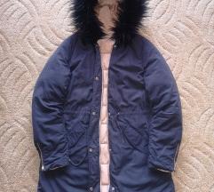 Kifordítható téli kabát