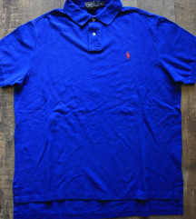 Újszerű  ' Ralph Lauren ' férfi pique póló, XL-es