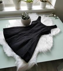 Csinos MANGO kis fekete ruha S