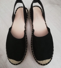 H&M nyitott sarkú espadrilles cipő