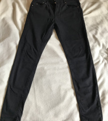 Bershaka fekete nadrág